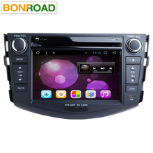 Quad Core 1024*600 HD Screen 2Din Android 6.0 Car DVD for Toyota RAV4 Audio Video Stereo GPS Navigation Radio RDS 3G 4G Wifi(China)
