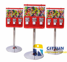 High quality coin operated slot machine for candy vending/sweetie vending, arcade machine, capsule machine CIT-GM009(China)