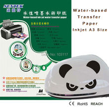 Blank Inkjet Water Slide Decal Paper from China Manufacturer (80pcs/pack) Clear Water Transfer Paper(China)