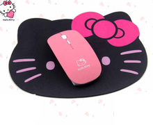 New Wireless Mouse 2.4G USB Receiver Cute Lovely Kitty Computer Mouses Cordless PC Laptop Desktop Mause Gaming Mice Best Gift