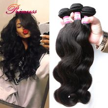 Peruvian Virgin Hair Body Wave 3 Bundles 8A Grade Virgin Unprocessed Human hair Rosa Hair Products Peruvian Body Wave 100g/Pcs