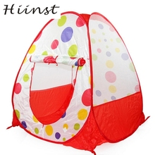 HIINST Children Play Tent Play House Indoor Tent Play Toys Birthday Present Tienda de juegos para ninos AUG1540