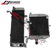 2XPCS Motorcycle Replacement Cooling Replacement Radiator For Honda VFR400 NC30 RVF400 NC35