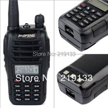 New Black BaoFeng UV-B6 Walkie Talkie 136-174MHz&400-470 MHz cheap Two Way Radio with free shipping+free earpiece than UV-B5(China)