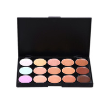 15 Color Professional Concealer Facial Face Cream Care Camouflage Makeup Base Palettes Cosmetic