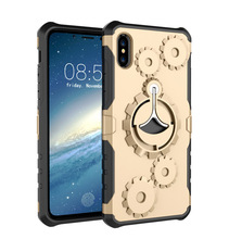Manufacturers of new For iphoneX sports arm with a mobile phone case of the current gear bracket anti-drop phone shell Quality a(China)