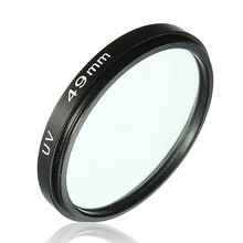 New 49mm UV Filter Ultra-Violet Lens Protector for Nikon For Canon for Olympus for Panasonic and other brand cameras