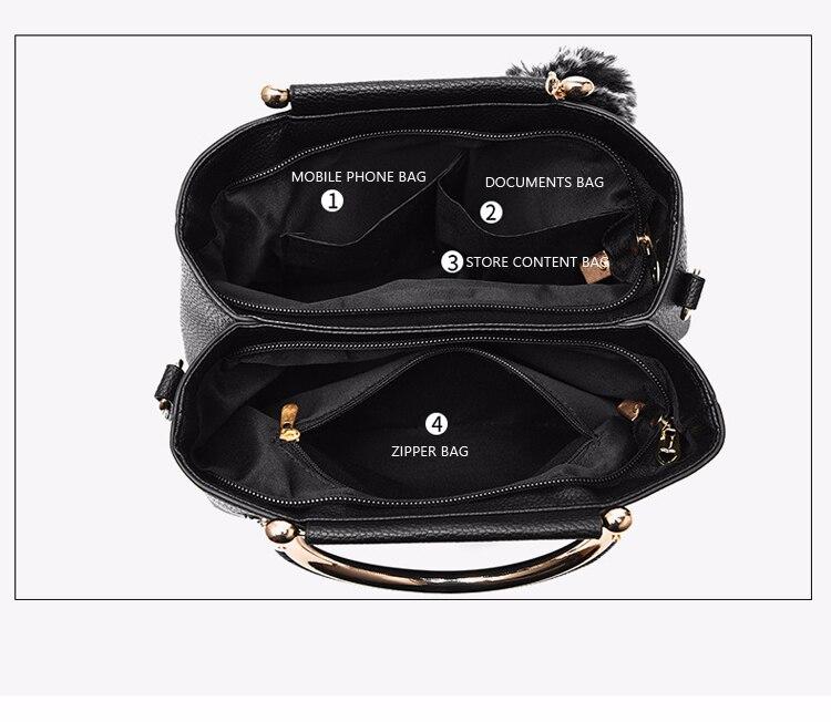 ETALOO Flowers Shell Ladies Handbags | Tote Leather Bag 6