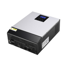 Solar inverter 1kva 800w 24Vdc to 230Vac,50/60HZ with 25A MPPT solar charger and battery charger pure sine wave Hybrid Inverter(China)