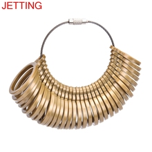 JETTING 32Pcs/1Set Measure Gauge Set Ring Sizer Finger Sizing Jeweler Jewelry Tools & Equipments