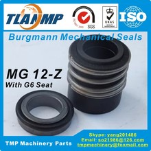 MG12-24mm MG12/24-Z (MG12-24Z/G6) Made in China Interchange Burgmann Mechanical Seals for Shaft Size 24mm Pumps (SiC/SiC/VITON)