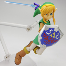 NEW hot 14cm The Legend of Zelda link movable Action figure toys doll collection Christmas gift with box 2.0(China)