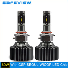 Buy SAFEVIEW hb4 9006 led bulbs headlight 5000k hb3 9005 6000K auto lamp 12V 30W waterproof car driving head lamp Fog light xenon for $32.26 in AliExpress store