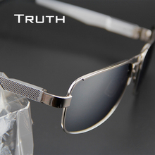 TRUTH men's aviators sunglasses flex hinge male polarized mirror aviator Glasses for driving fishing luxurys sunglasses brand