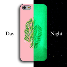 Fresh banana leaves phone case silicone Hard Cell Phone Cover Case For Apple iphone 4 4S 5 5S 5C 5 SE 6 6S 6PLUS 6SPLUS(China)