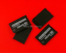 6pcs/lot Micro SD SDHC TF to Memory Stick MS Pro Duo Adapter Converter Card for psp1000 2000 3000 psp 1000 2000 3000