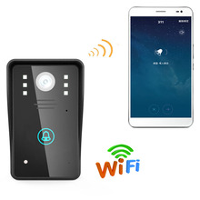 Mountainone HD 720P Wireless WIFI Video Door Phone Doorbell Intercom System Night Vision Waterproof Support Android iOS unlock