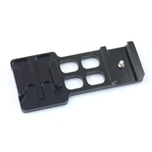 F06668 Aluminium Camera Picatinny Weaver Gun Guide Rail Mount Side for GOPRO Hero 1 2 3 3+ 4 5Session/Xiaomi Yi/SJ/GitUp Camera