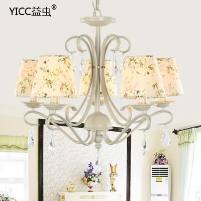 LED 5 Heads Ceiling Chandelier Flowers  Lamp And Crystal Chandeliers  Light Modern Minimalist Living Room<br><br>Aliexpress
