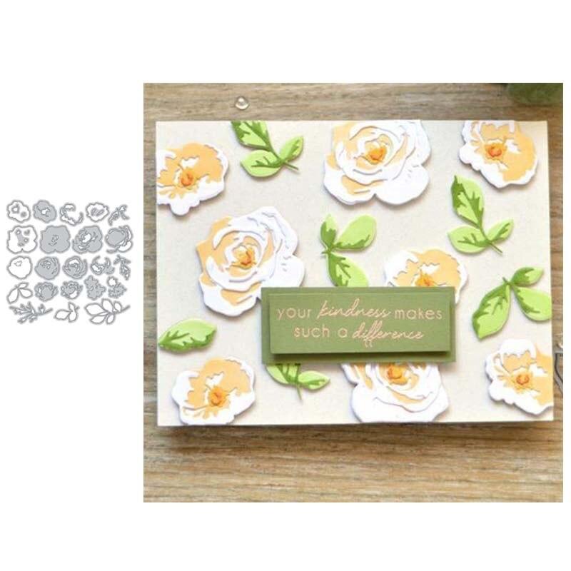 Kindness Cutting Dies Stencil DIY Scrapbooking Embossing Album Paper Card Craft