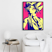 Bianche Wall Simple Japanese Anime Comics YU-GI-OH People Canvas Painting Art Print Image Poster Wall Children's Bedroom Decor(China)