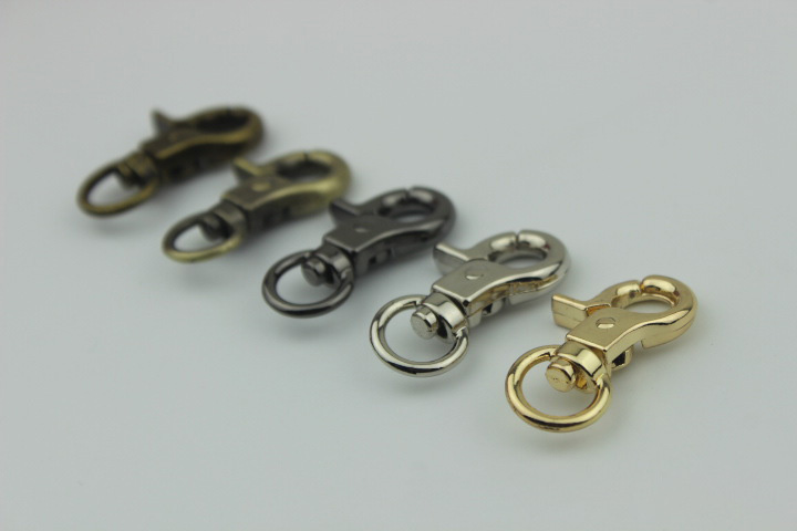 HK007 Metal Swivel Clasps  Snap Hook Clasp BAG (9)