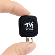2017 New Micro USB DVB-T HD TV Tuner Digital Satellite Phone Dongle Receiver TV Stick For Android Phone Requirement