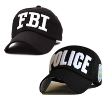 "2 Style embroidery ""POLICE"" ""FBI"" Letter baseball cap snapback hats for men women,bone snap back casquettes(China)"
