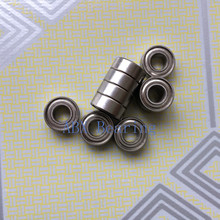 Free shipping 50pcs MR105ZZ L-1050 MR105 deep groove ball bearing 5x10x4 mm miniature bearing ABEC3