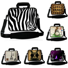 "Men's and  Women's 14"" DIY Prints Waterproof Laptop Messengers Shoulder Bags For DELL Lenovo ASUS HP Acer 14 Inch PC School Bag"