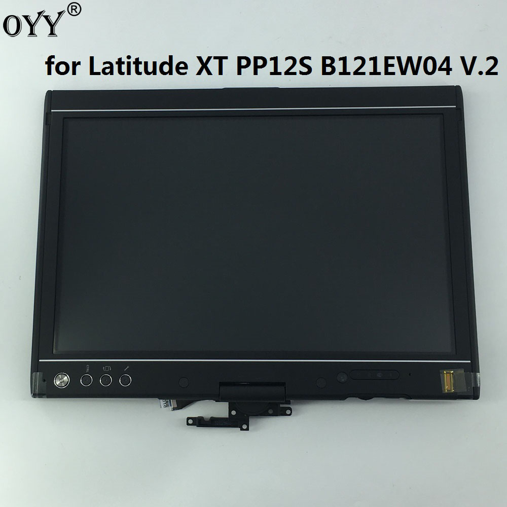 new LCD display + touch screen digitizer Assembly upper half Replacement Parts for Dell Latitude XT PP12S<br>