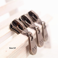 5# Wholesale 10pcs Zipper cool  Metal Zipper Pulls zipper Head For Handbag/ Backpack/Clothing/Sewing Tailor Tools t17