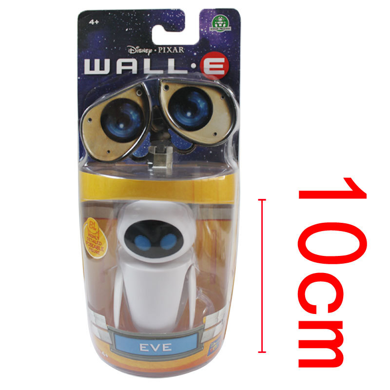 10Pcs/Lot Free Shipping EVE Robot Toys Wall E EVE PVC Action Figure Toys Dolls The Best Christmas Gift For Your Children<br><br>Aliexpress