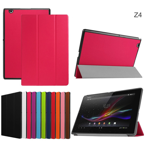 Ultra Slim Stand PU Leather Carry Case for Sony Xperia Z4 Tablet Ultra SGP771 SGP712 10.1 Casse for Sony Z4 Tablet 2015 Model<br><br>Aliexpress