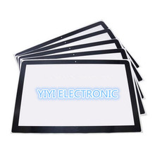 Pack of 10 pcs Genuine For Apple MacBook Pro 13'' A1278 LCD Screen Glass with Adhesive(China)