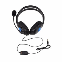 Wired Gaming Headset Earphones Headphones Microphone Mic Stereo Supper Bass Sony PS4 PlayStation 4 Gamers - Shenzhen CarNival Trading Co., Ltd. store