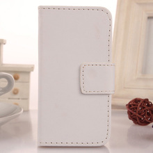 LINGWUZHE Hot Sale PU Leather Case Protective Cell Phone Skin Cover For MEDION LIFE E4504 MD 99537 4.5''
