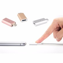 Micro USB Charging Cable Magnetic Adapter Data Transfer Charger For Iphone For Lightning Android Samsung LG Huawei P16