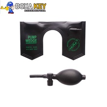 Best Black KLOM Stiff Car Door U Wedge PUMP WEDGE LOCKSMITH TOOLS Auto Air Wedge Lock Pick Open Car Door Lock(China)