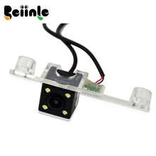 1/4 Color CCD HD Rear View Camera / Parking Camera For Hyundai Elantra Terracan Tucson Accent Kia Sportage R 2011 Night Vision(China)