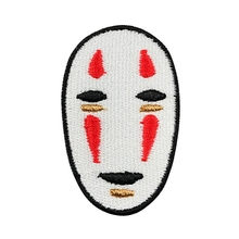 Buy 2Pcs Face Patch Embroidered Iron Patches Clothing Applique Badge Cool Jacket Stickers Apparel Craft DIY Accessory for $1.34 in AliExpress store