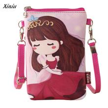 Wallet kids Shoulder Bags Children 's & Cartoon Child pussy Card holder Kids Girls Mini Crossbody Bag Billetera(China)