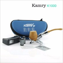 High quality Kamry K1000 E Pipe E Cigarette Vape Mod Pen Vaporizer Electronic Cigarette Pipe Smoking with Refillable Clearomizer