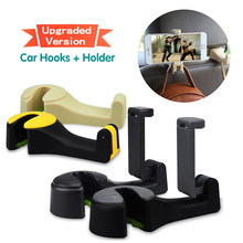 AUXITO Car Seat Hooks Cellphone Holder Organizer For Dodge RAM 1500 Journey Charger Jeep Wrangler Grand Cherokee JK Compass Lada(China)