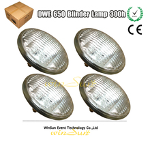 4x Par 36 120V/650W (DWE) Studio Blinder Matrix Lamp Bulb Source WW2/4/8 Performance Blinders Warm 3200K Lights Effect