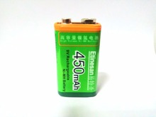 ETINESAN 9V 450MAH NI-MH rechargeable battery Apply to Electronic dog toy Flashlight Motion camera interactive toys batteries(China)
