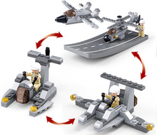 Military aircraft assembled model aircraft carrier boys fight inserted educational toys for children(China)