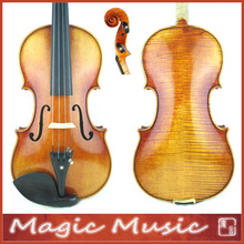 Master Level! Stradivarius Lord Wilton Top Master Violin 4/4 #1744, 18 Years Old European Spruce & Handmade Oil Varnish