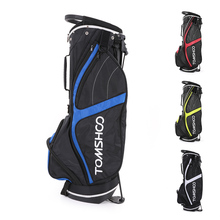 TOMSHOO Lightweight Golf Stand Bag Cart Bag 14 Way Full Length Individual Divider Top Golf Bag Golf Club Organizer Bag 4 Colors(China)