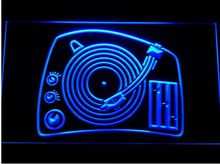 DJ Turntable Mixer Music Spinner NEW Bar Pub LED Neon Sign